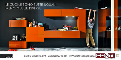 Annuncio stampa Lago cucine, by Monkey Business