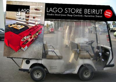 Pubblicità del negozio Lago di Beirut, by Monkey Business