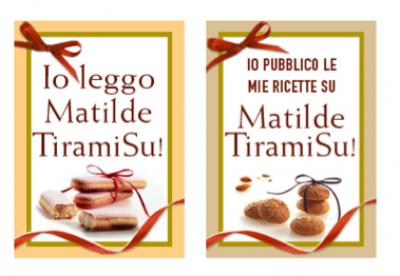 """Badge """"Io leggo Matilde"""" e """"Io pubblico su Matilde"""""""