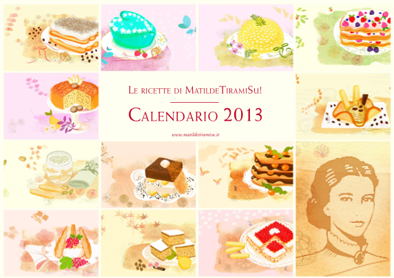 Matilde Vicenzi: calendario 2013