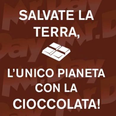 Meme MrDay Cioccolata by Monkey Business